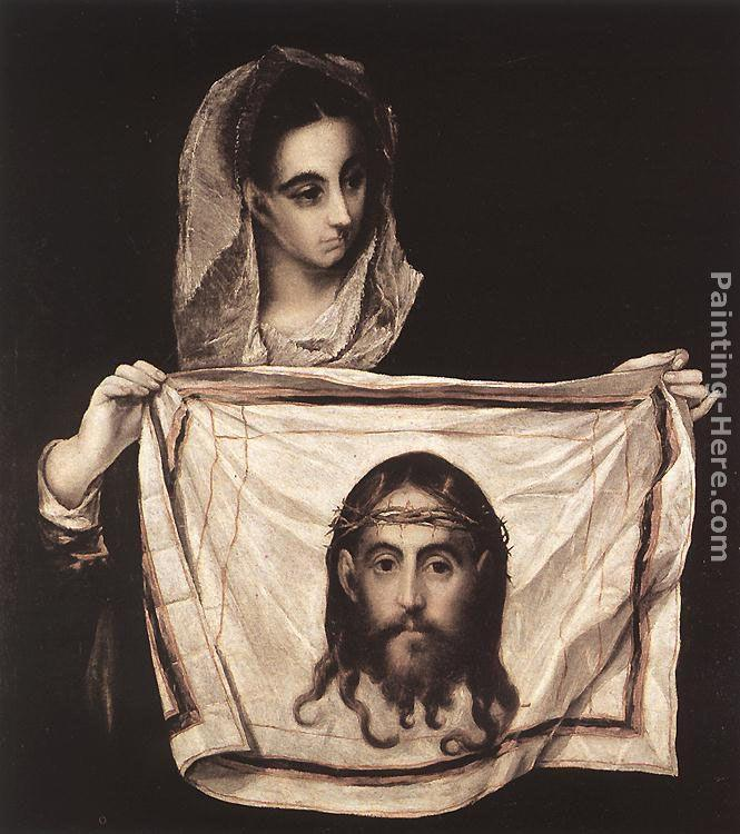 El Greco St Veronica with the Sudary
