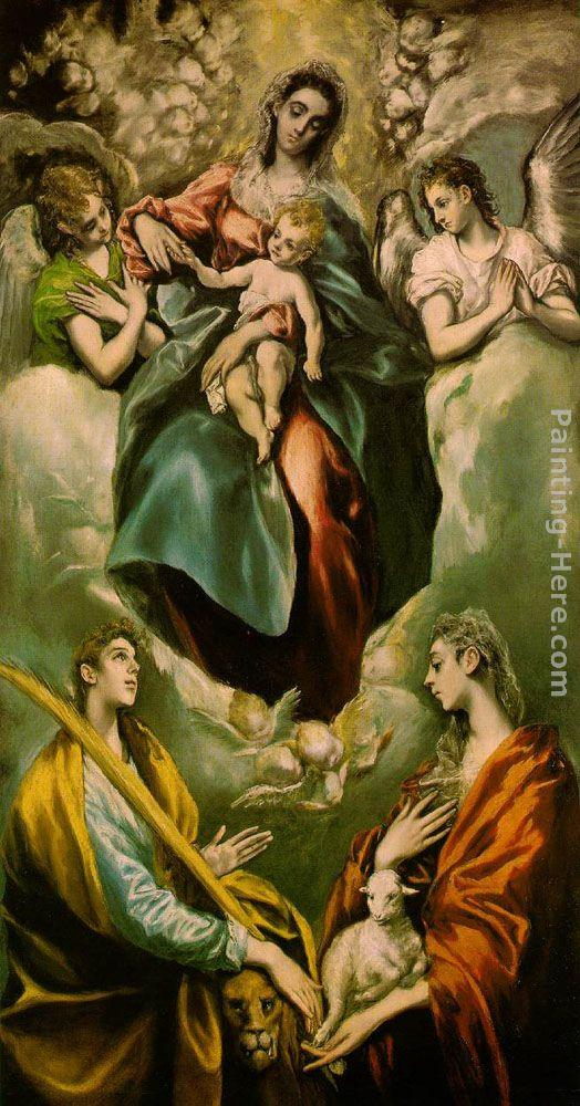 El Greco Wall Art