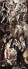 El Greco Canvas Paintings - Adoration of the Shepherds
