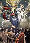 El Greco Coronation of the Virgin painting