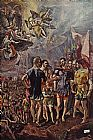 El Greco Martyrdom of St Maurice and his Legions painting
