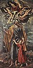 El Greco St Joseph and the Christ Child painting