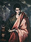 El Greco St. John the Evangelist painting