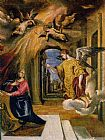 El Greco The Annunciation painting