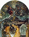 El Greco Famous Paintings - The Burial of Count Orgaz