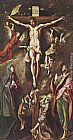 El Greco Famous Paintings - The Crucifixion