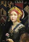Eleanor Fortescue-Brickdale - Head of a Tudor Girl