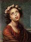 Elisabeth Louise Vigee-Le Brun - The Daughter's Portrait