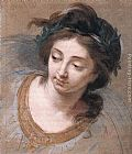 Elisabeth Louise Vigee-Le Brun - Woman's Head
