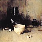 Emil Carlsen - Still Life with Self Portrait Reflection