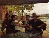 Emile Friant - Discussion Politique