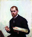 Emile Friant - Self-Portrait