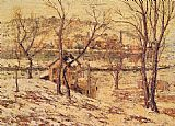 Ernest Lawson - Winter on the Harlem River