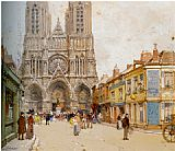 Eugene Galien-Laloue - La Cathedrale de Reims