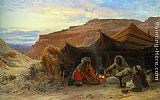 Eugene-Alexis Girardet - Bedouins in the Desert