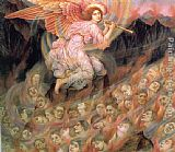 Evelyn de Morgan - Angel Piping to the Souls in Hell