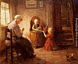 Evert Pieters - Mother and Children