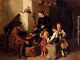 Felix Schlesinger The Peddler's Wares painting