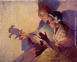 Ferdinand Loyen Du Puigaudeau - Chinese Shadows, the Rabbit