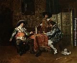 Ferdinand Roybet - A Game of Cards
