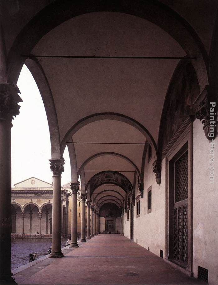 Brunelleschi Old Sacristy Filippo Brunell...