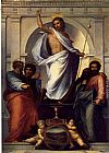 Fra Bartolommeo - Christ with the Four Evangelists