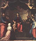 Fra Bartolommeo - The Marriage of St Catherine of Siena