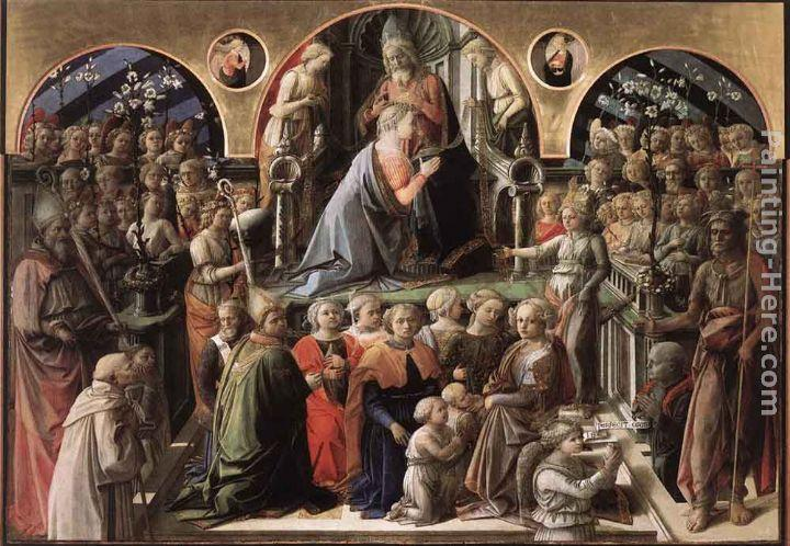 Fra Filippo Lippi Coronation of the Virgin