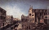 Francesco Albotto - View of Campo Santi Giovanni e Paolo