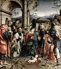Francesco Francia - Adoration of the Child