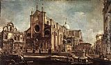 Francesco Guardi - Campo Santi Giovanni e Paolo