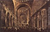Francesco Guardi - Doge Alvise IV Mocenigo Appears to the People in St Mark's Basilica in 1763