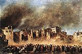 Francesco Guardi - Fire in the Oil Depot at San Marcuola