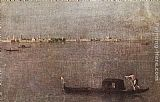 Francesco Guardi - Gondola in the Lagoon