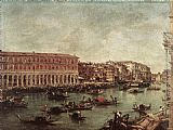 Grand Wall Art - The Grand Canal at the Fish Market (Pescheria)
