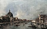 Grand Wall Art - The Grand Canal with San Simeone Piccolo and Santa Lucia