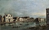 Grand Wall Art - The Grand Canal with Santa Lucia and the Scalzi