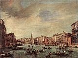 Grand Wall Art - The Grand Canal, Looking toward the Rialto Bridge