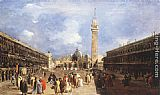 San Wall Art - The Piazza San Marco towards the Basilica