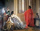 Francesco Hayez - Caterina Cornaro Deposed from the Throne of Cyprus