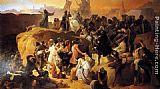 Francesco Hayez - Crusaders Thirsting near Jerusalem