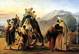 Francesco Hayez - Jacob and Esau
