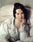 Francesco Hayez - Portrait of Carolina Zucchi