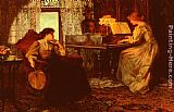 Francis Sidney Muschamp - The Piano Lesson