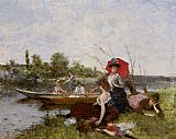 Francisco Miralles - The Boating Party