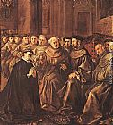 Francisco de Herrera the Elder - St Bonaventure Joins the Franciscan Order