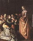 Francisco de Herrera the Elder - St Catherine Appearing to the Prisoners