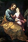 Francisco de Herrera the Elder - St Joseph and the Child