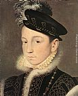 Charles Wall Art - Portrait of King Charles IX of France
