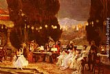 Francois Flameng - An Evening's Entertainment For Josephine